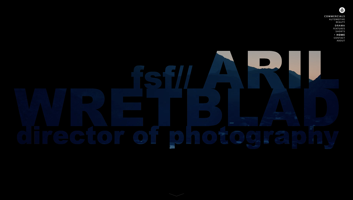 ARIL WRETBLAD fsf - director of photography